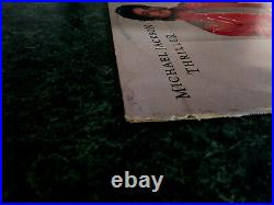Michael Jackson Thriller Australian 12 Vinyl Record Unique Sleeve Super Rare