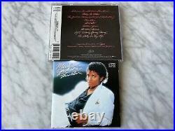 Michael Jackson Thriller CD MADE IN JAPAN ORIGINAL 1982 EPIC EK 38112 VERY RARE