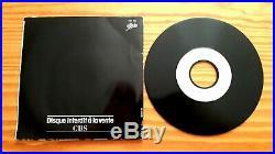 Michael Jackson Thriller Promo Pro 394 + Message. Rare French. Smile