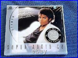 Michael Jackson Thriller Sacd Out Of Print Rare Sealed