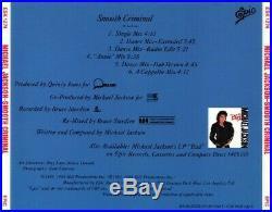 Michael Jackson USA Promo CD Smooth Criminal Ultra Rare