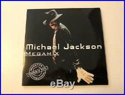 Michael Jackson Ultra Rare MEGAMIX Promo only CD Colombia Unique Picture Sleeve
