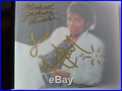 Michael Jackson VERY RARE Autographed Signed Thriller 25th Anniversary CD/DVD