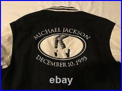 Michael Jackson Very RARE 1995 HBO Crew Jacket Size Large Promo Only withdrawn