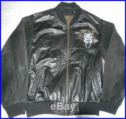 Michael Jackson Veste En Cuir History World Tour Rare Leather Jacket Like New