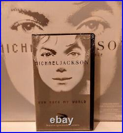 Michael Jackson Vhs Promo You Rock My World Sealed Invincible Rare New 2001