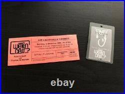 Michael Jackson Wetten Dass 95 VIP FRONT OF STAGE Pass + Ticket Ultra Rare Promo