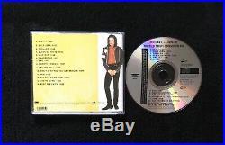 Michael Jackson World Tour Souvenir CD, 1992 SUPER RARE Epic CD5703232
