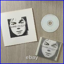 Michael Jackson rare Invincible promo press kit flyer + CD Mexico