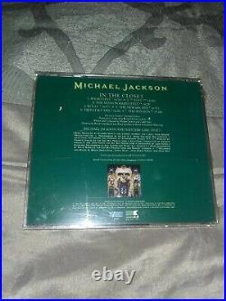 Michael Jackson rare us promo CD single IN THE CLOSET