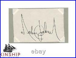 Michael Jackson signed Cut JSA LOA AUTO GRADE 9 Rare King of Pop d. 2009 Z733