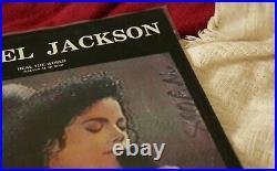 Michael Jackson vinyl Heal The World Salven Al Mundo Mexico promo RARE Smile