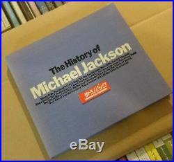 Michael Jacksonthe History Of Michael Jacksonjapan Rare Promo Cdqy8p-90093