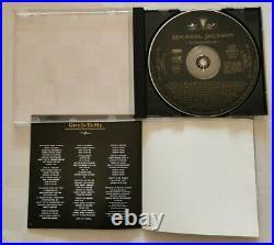 Michael jackson dangerous CD 13 Tracks Rare No Promo