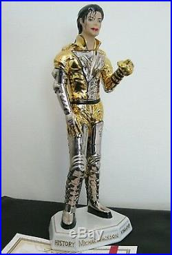 Michael jackson figure statue hot toys rare pepsi mystery doll history scream
