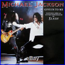 Michael jackson give in to me slash 12 maxi rare