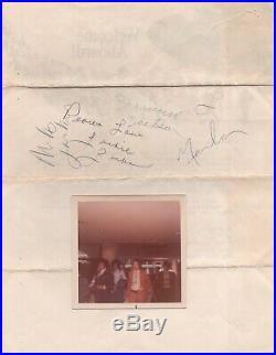 Michael jackson the Jackson 5 signed autographs rare BECKETT