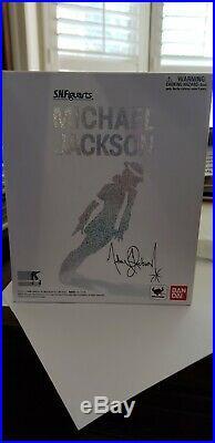 NEW Authentic Bandai S. H. Figuarts MICHAEL JACKSON Figure USA Seller (RARE)