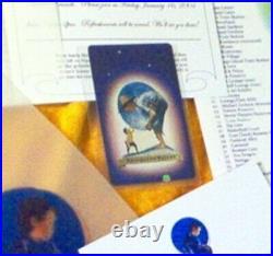 Neverland Valley Ranch Michael Jackson ORIGINAL PLAYING CARD! Very rare HTF