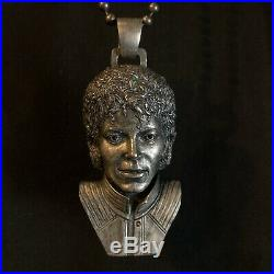 Nous Sommes Jewelry Michael Jackson Necklace Rare Metal Made In France Pendent