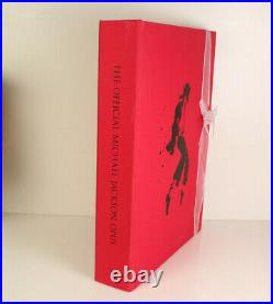 Official Michael Jackson OPUS Book & glove in original box RARE