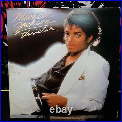 RARE 1982 Michael Jackson Thriller Record Vinyl LP QE 38112 VG++/VG+