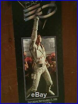 RARE 1986 Disneyland CAPTAIN EO Galactic Premiere UNUSED TICKET Michael Jackson