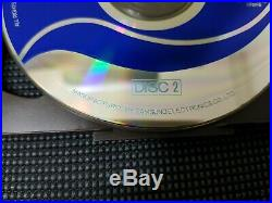 RARE 1994 Vintage MICHAEL JACKSON Korea PROMO Moon Walker Video CD Disc Samsung