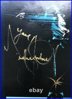 RARE GENUINE Michael Jackson Signed Picture Autogramm Orginal DTD Book Smile