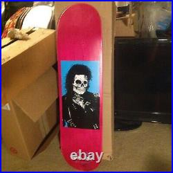 RARE GIRL GUY MARIANO Michael Jackson Skull of Fame skateboard deck Sean Cliver