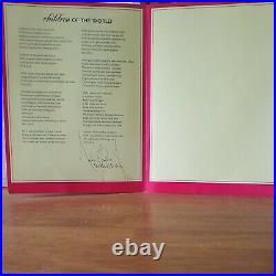 RARE Genuine Michael Jackson Neverland Valley Ranch Menu Folder
