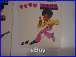 RARE. Gorgeous Michael Jackson 5 Five Board Action Game 1972. NM/complete w Box