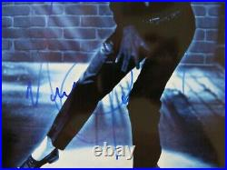 RARE King of Pop Michael Jackson Hand Signed 8X10 Color Photo Todd Mueller COA