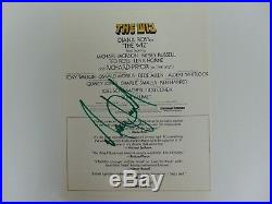RARE! King of Pop Michael Jackson Hand Signed The Wiz Cover Todd Mueller COA