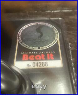 RARE Michael Jackson Beat It Figure Bravado Playmates 10 Doll Limited Edition