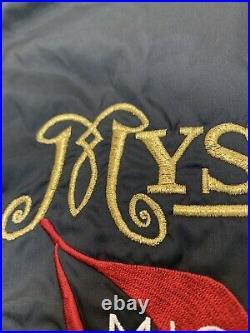 RARE Michael Jackson HIStory World Tour 1996 Nylon Coach Jacket Sz. XL