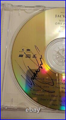 RARE Michael Jackson History Dual signed CD & cover with CoA