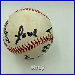 RARE Michael Jackson Single Signed Autographed National League Baseball JSA COA