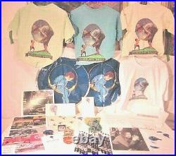 RARE NEVERLAND lot! 25 original items + Michael Jackson hand-signed autograph