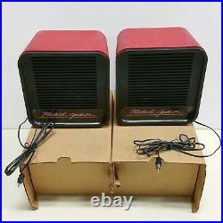 RARE NEW NOS VTG Michael Jackson 1984 ERTL Vanity Fair record player speakers