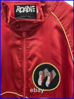 RARE Vtg Michael Jackson Smooth Criminal Concert Satin Tour Jacket Roadie 1987