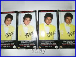 Rare 1984 Set of 4 Michael Jackson 12 Superstar of the 80's Dolls by LJN-NIB