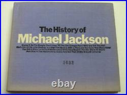 Rare Edition Michael Jackson The History Of Qy 8P-90093 Promo Board With Serial