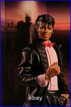 Rare MICHAEL JACKSON King of Pop 12 DOLL BLACK OR WHITE NIB and BILLIE JEAN NIB