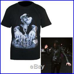 Rare MJ Michael Jackson Punk Shrug Suit Blazer Black This Is It Costume Jacket