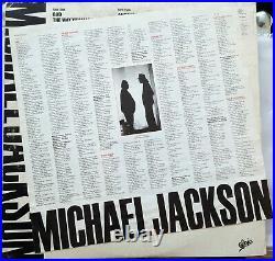 Rare Michael Jackson BAD LP Epic 1987 press from Hong Kong (EPA 2020.1)
