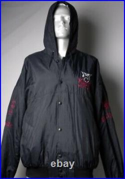 Rare! Michael Jackson Dangerous History King Of Pop Bad Hoodie Bomber Jacket