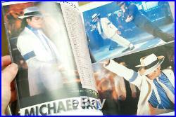 Rare Michael Jackson Moonwalker Japanese Programme Chirashi Poster Cinema Ticket
