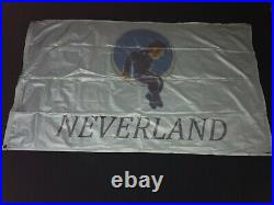 Rare Michael Jackson Neverland Ranch Flag. Wear And Tear Untouched