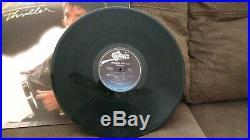 Rare Michael Jackson Thriller Rare Cover Error Vinyl Record Qe 38112